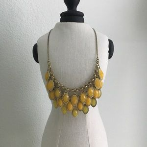 Francesca's Collection Yellow Necklace
